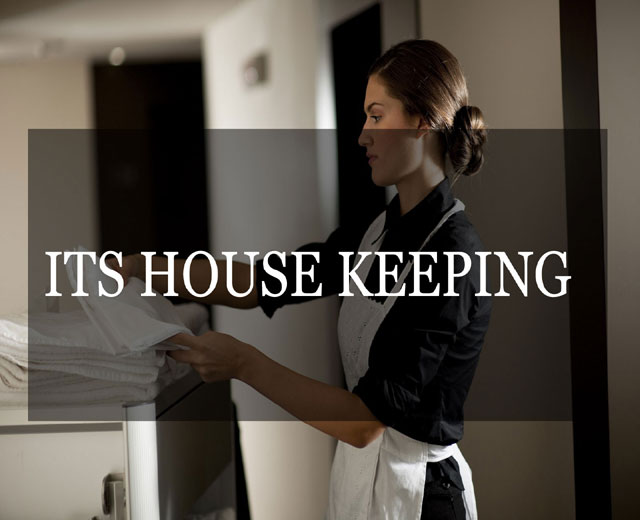 House keeping software